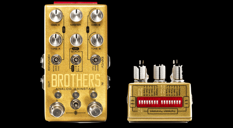 Chase bliss audio brothers the swiss army knife of gain for Property brothers bliss