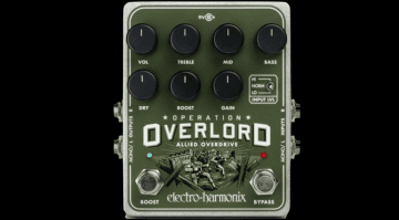 Electro Harmonix Operation Overlord Stereo Overdrive Distortion pedal