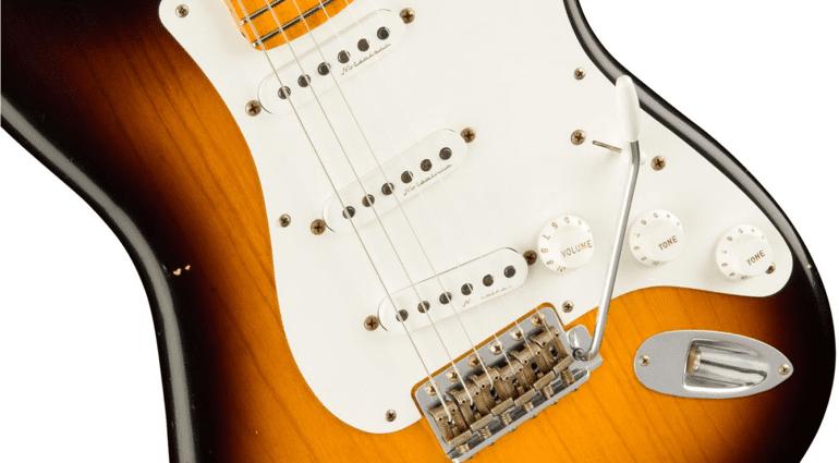 Fender Custom Shop Journeyman Relic Eric Clapton Signature Stratocaster Noiseless pickups