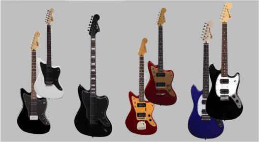 Jazzmasters , Mustangs, Baritone Squier 2017 Offset range