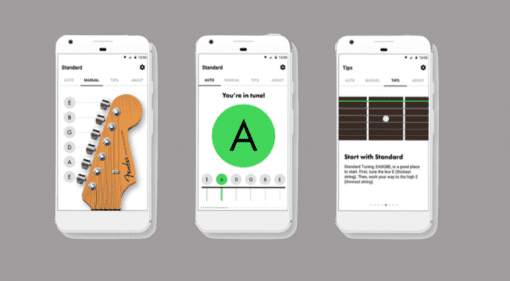 Fender Tuner Android Guitar bass