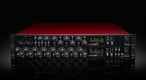 Focusrite Scarlett OctoPre and OctoPre Dynamic
