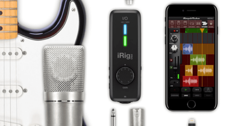 IK Multimedia iRig Pro I:O ins and outs