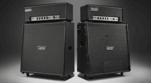 Laney Tony Iommi LA100BL amp and TI-Boost pedal