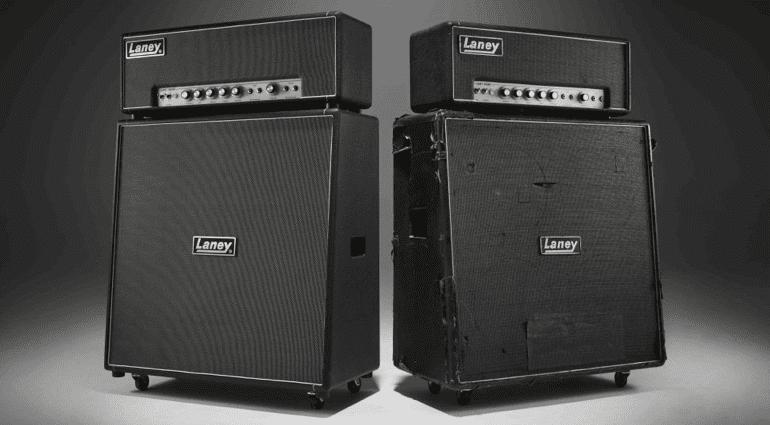 Laney Tony Iommi LA100BL amp and TI-Boost pedal