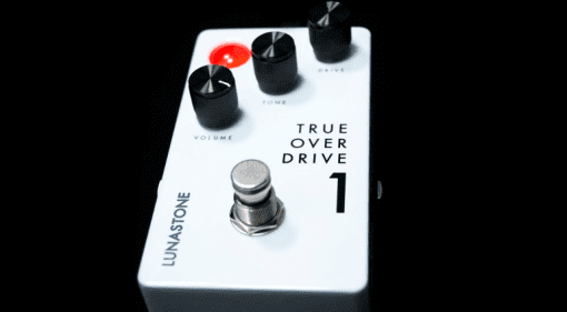 LunaStone TrueOverDrive1 overdive pedal top