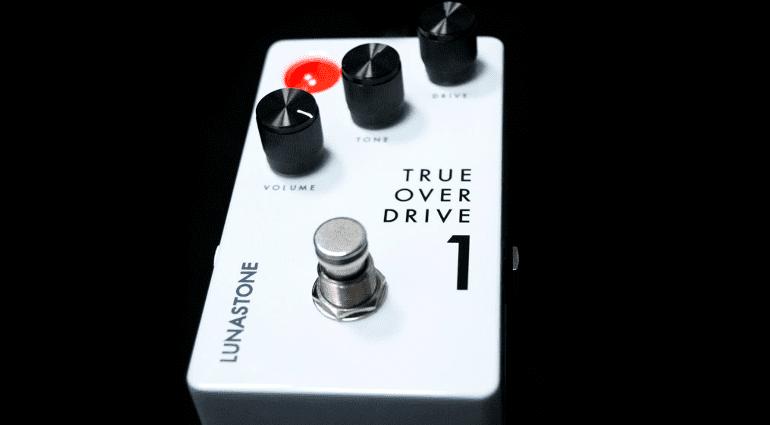 LunaStone True Overdrive1 overdrive effect pedal top