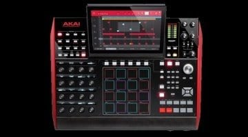 AKAI Professional MPC X Top View Black