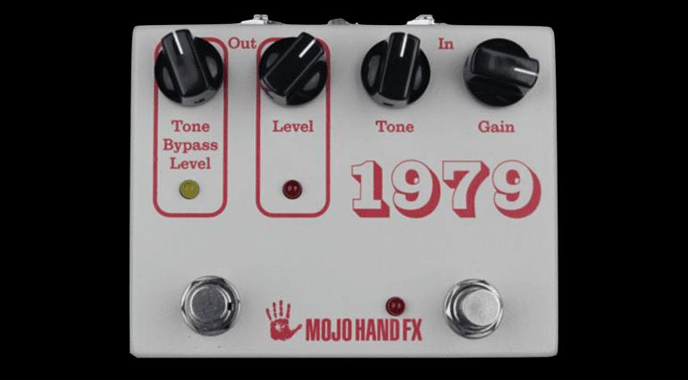 Mojo Hand FX 1979 IC Big Muff fuzz pedal