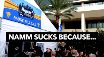 NAMM Sucks because Music Is Win YouTube video