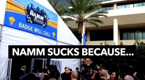 NAMM Sucks because Music Is Win YouTube video