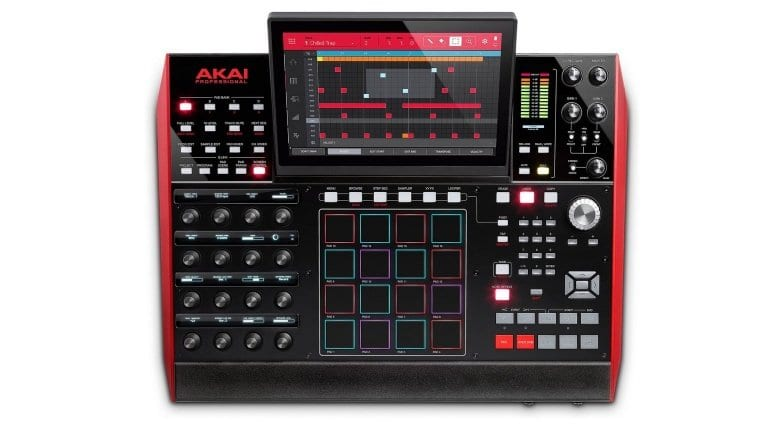 AKAI Professional MPC X Top View