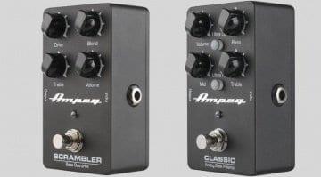Ampeg Scrambler Classic Bass Preamp