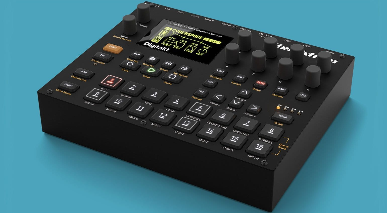 NAMM 2017: Digitakt 8 voice drum machine and sampler from Elektron