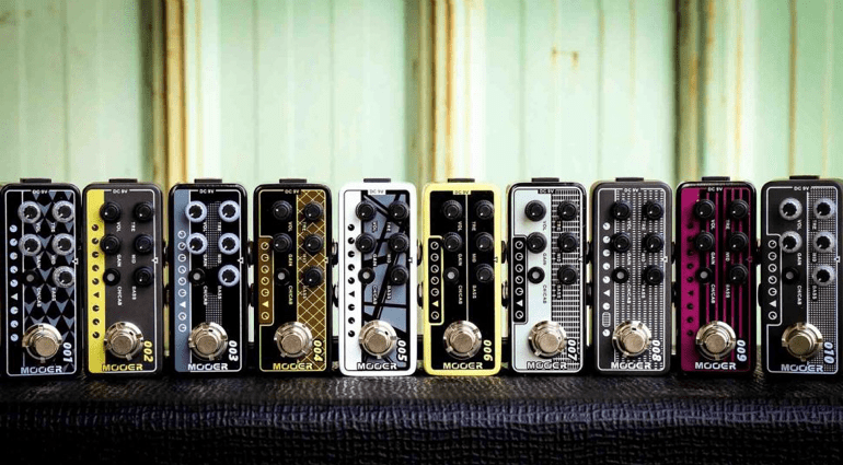 mooer to launch broadside of 10 new guitar preamp pedals at namm. Black Bedroom Furniture Sets. Home Design Ideas