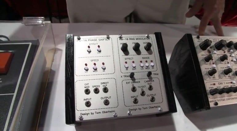 Oberheim Phase Shifter and Ring Modulator Eurorack modules