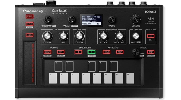 Pioneer DJ Toraiz AS-1 with DSI monophonic analog synth engine