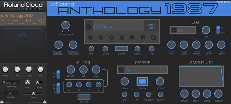 Roland Anthology 1987