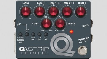 Tech21 Q/Strip MOSFET Preamp Pedal