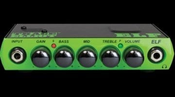 Trace Elliot ELF 200 watt bass head