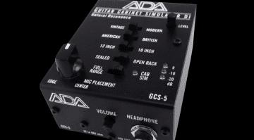 ADA GCS-5 Guitar Cabinet Simulator
