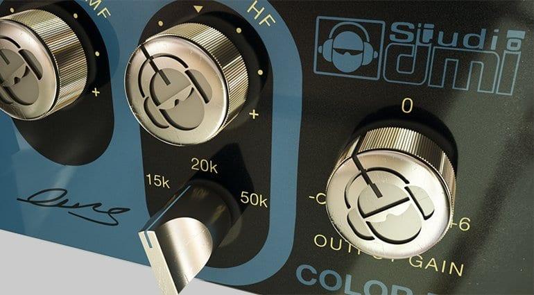 Acustica Audio & Studio DMI: Diamond Color EQ Plug-in - Close-up 1