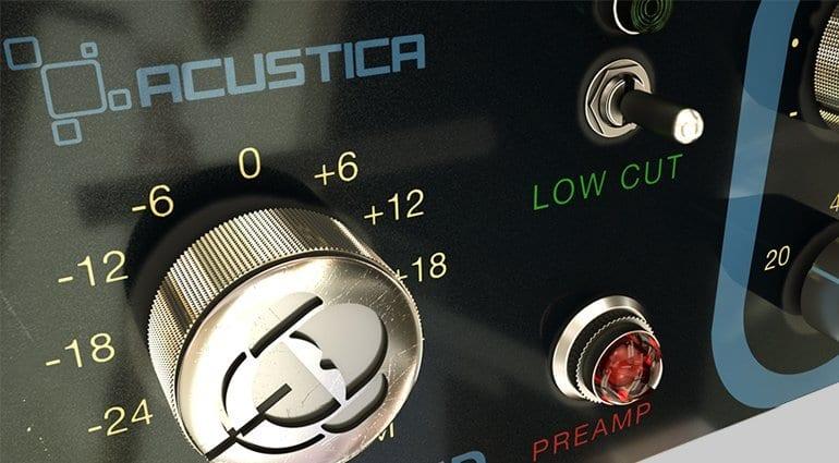 Acustica Audio & Studio DMI: Diamond Color EQ Plug-in - Close-up 2