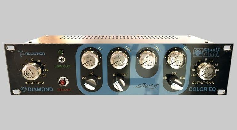 Acustica Audio & Studio DMI: Diamond Color EQ Plug-in