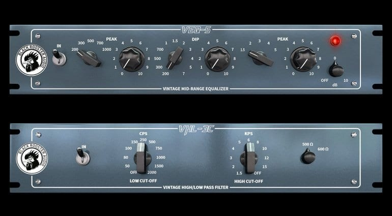 Black Rooster Audio VHL-3C and VEQ-5