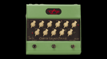 Carvin Steve Vai Legacy VLD1 preamp pedal guitar