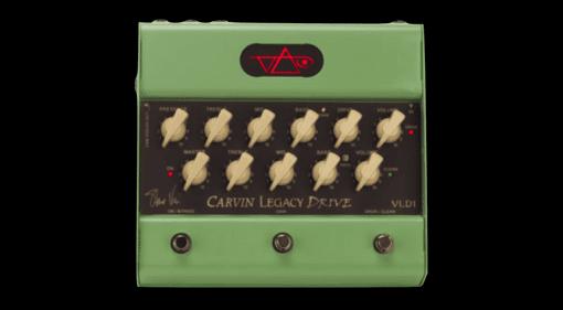 Carvin Steve Vai Legacy VLD1 preamp pedal guitar
