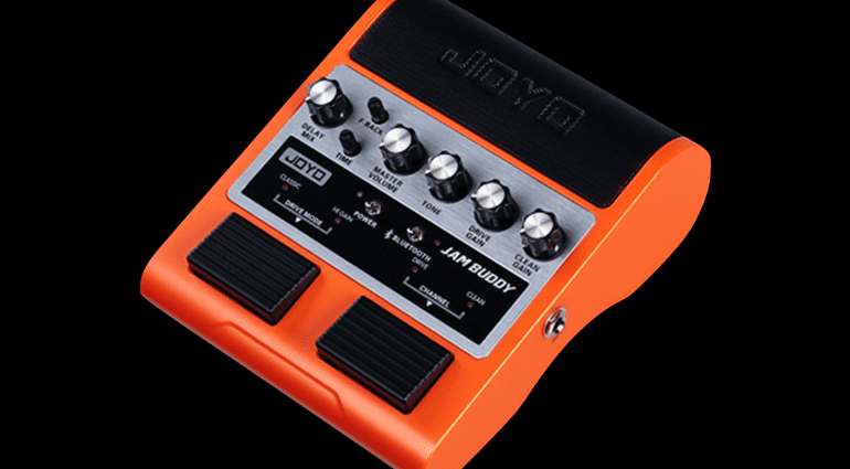 JOYO Jam Buddy stereo 4w practise amp in a pedal