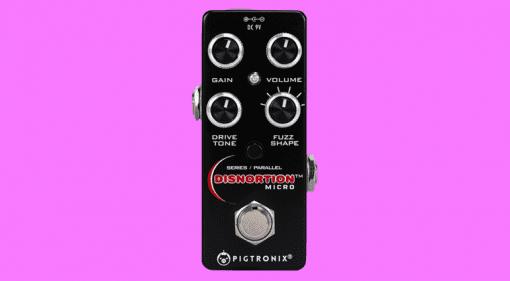 Pigtronix Disnortion Micro pedal