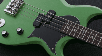Reverend Mike Watt Wattplower bass Satin Emerald green