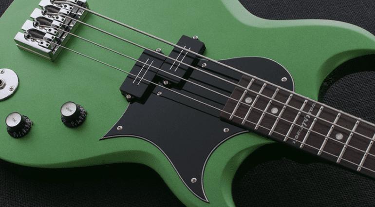 Reverend Mike Watt Wattplower bass Satin Emerald green