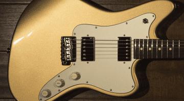 Suhr JM Pro Series Gold Suhr SSV Humbuckers