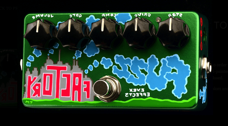 ZVez Reverse Fuzz Factory 111 Spam Can fuzz pedal