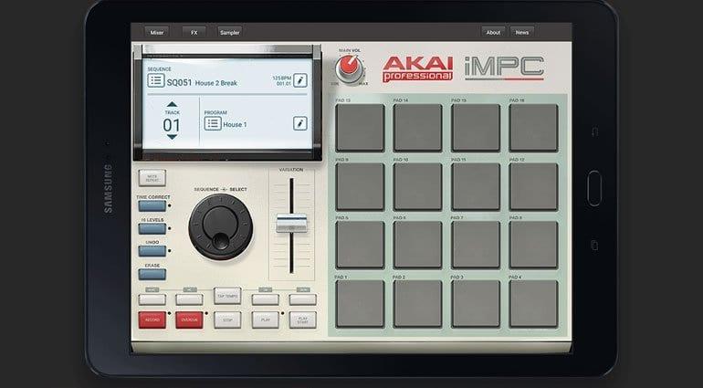 Akai Pro iMPC for Samsung Galaxy