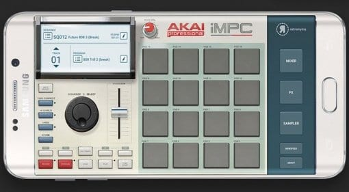 Akai Pro iMPC for Samsung Galaxy