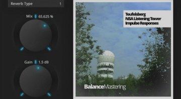 Balance Mastering Teufelsberg impulse reverb plug-in