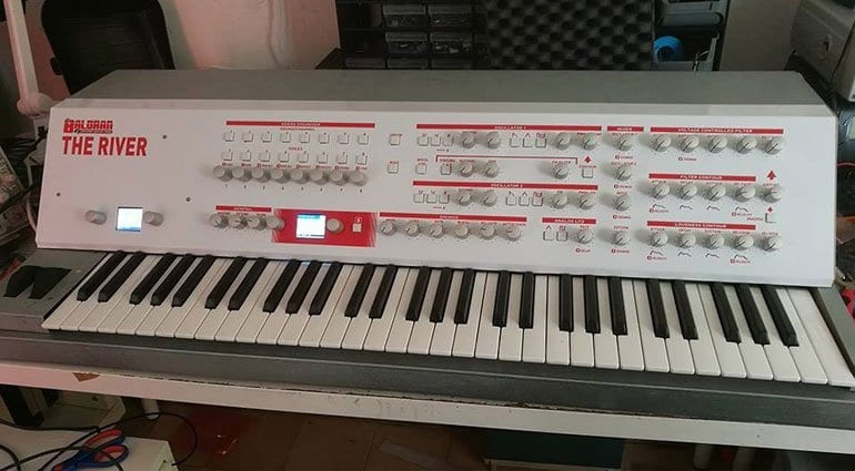 Baloran The River polyphonic synthesizer front