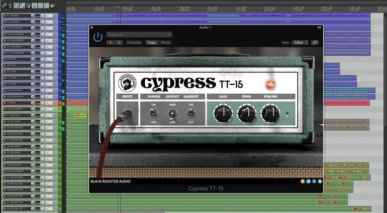 Black Rooster Audio Cypress TT15 amp plugin