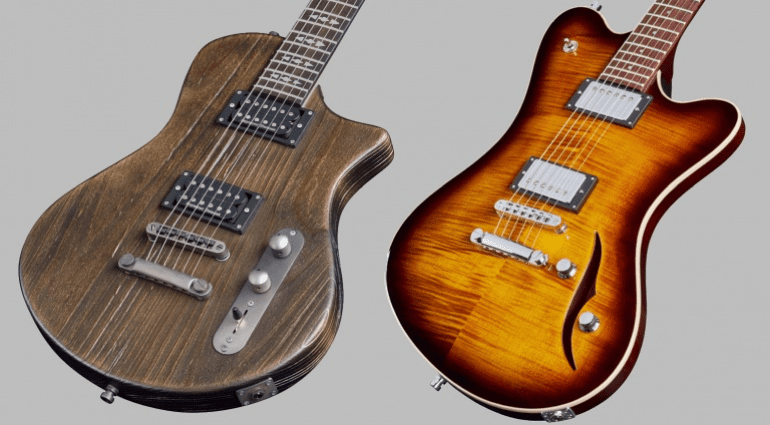 Framus The Blank Television guitars