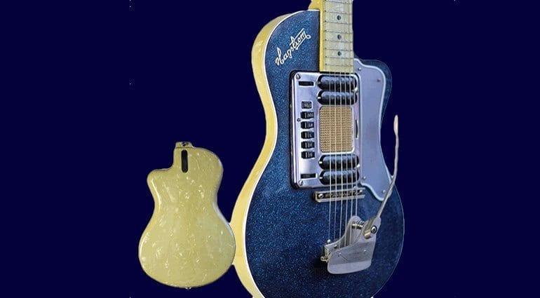 Kurt Cobain's Hagstrom Deluxe Model 90
