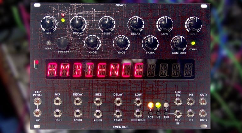 Ninstrument Eventide Space Eurorack