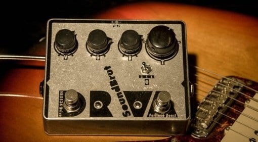 SoundBrut DRVA Drive pedal effect Sweden