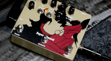 Dwarfcraft Super Wizard guitar effects pedal