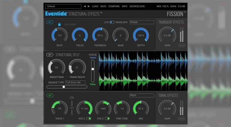 Eventide Fission transient plug-in
