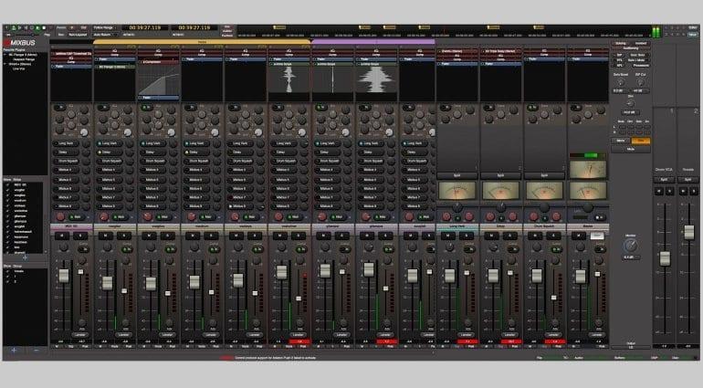 Harrison Mixbus v4 Screenshot