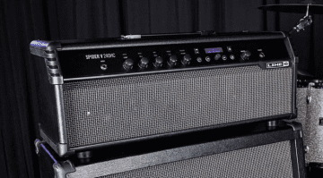 Line 6 HD Spider V 240HC amp head speaker